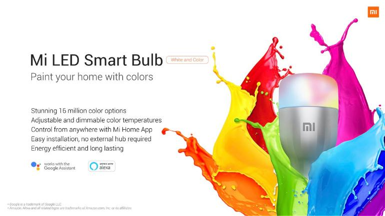 Xiaomi Mi LED Smart Bulb.