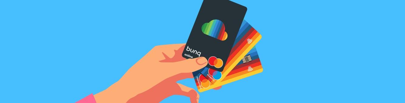 bunq online cards