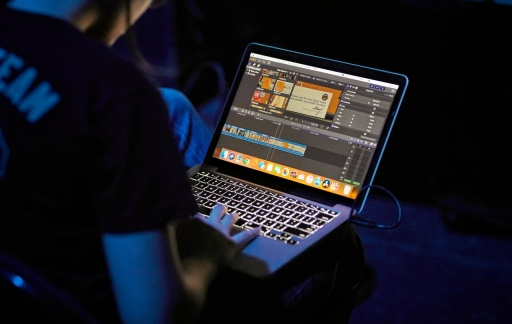 Apple onderwijs muziek maken