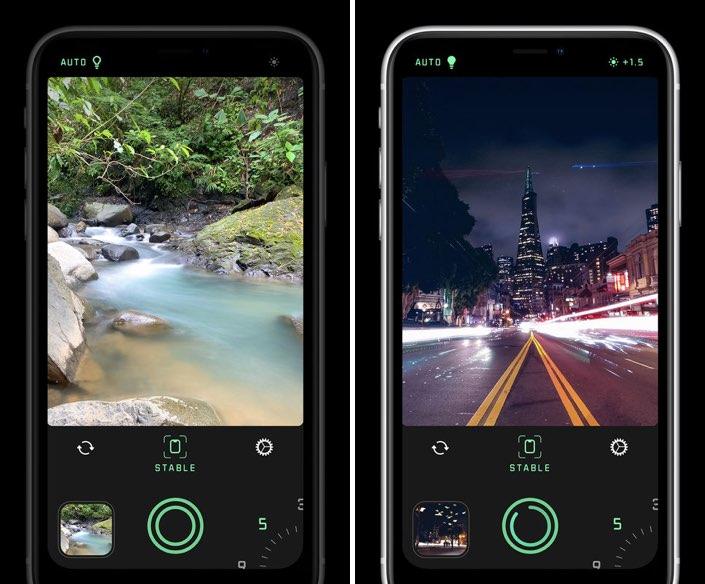 Spectre app voor lange belichting