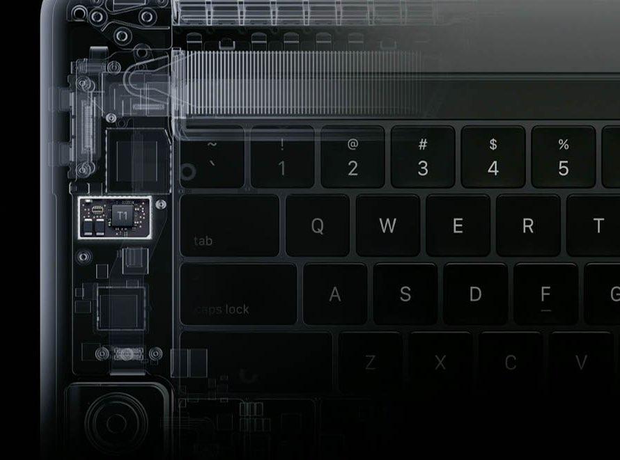 Secure Enclave op Apple T1 Chip
