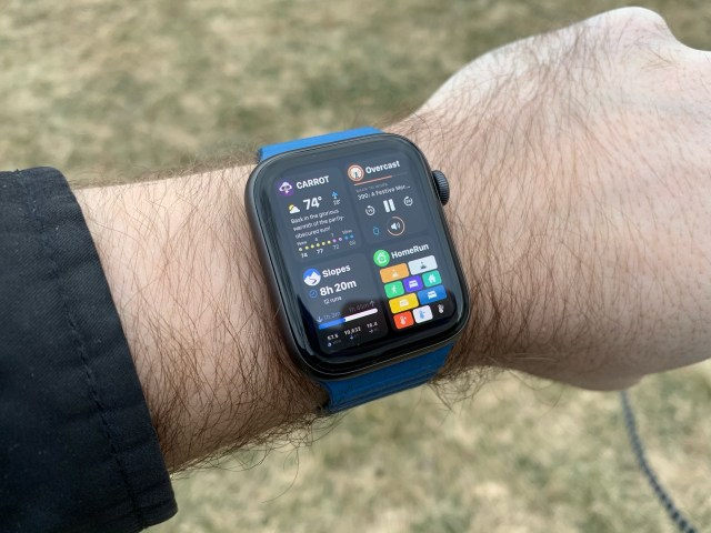 watchOS 6 concept met Dock.