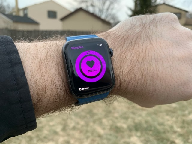 watchOS 6 concept met slaaptracking.
