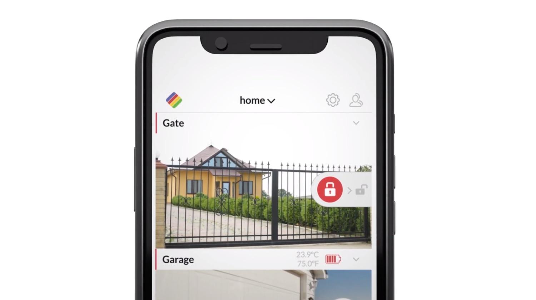 Ismartgate-app hek openen via HomeKit.