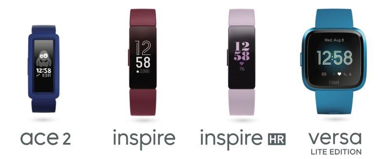 Fitbit nieuwe producten 2019