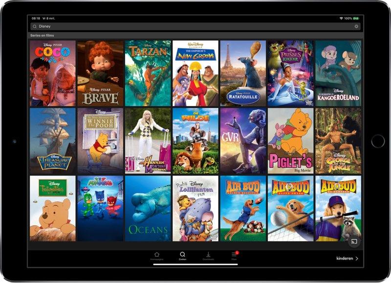 Disney-aanbod bij Netflix