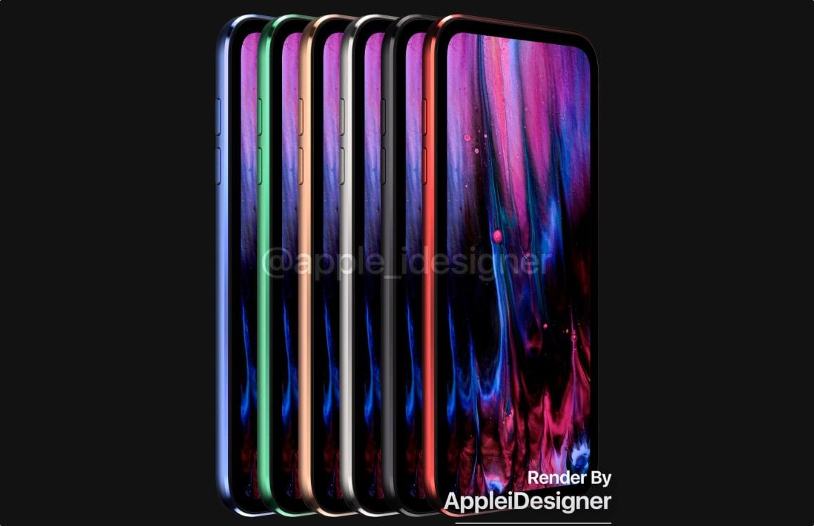 iPod touch 2019 concept kleuren
