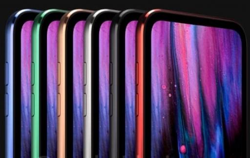 iPod touch 2019 kleuren concept