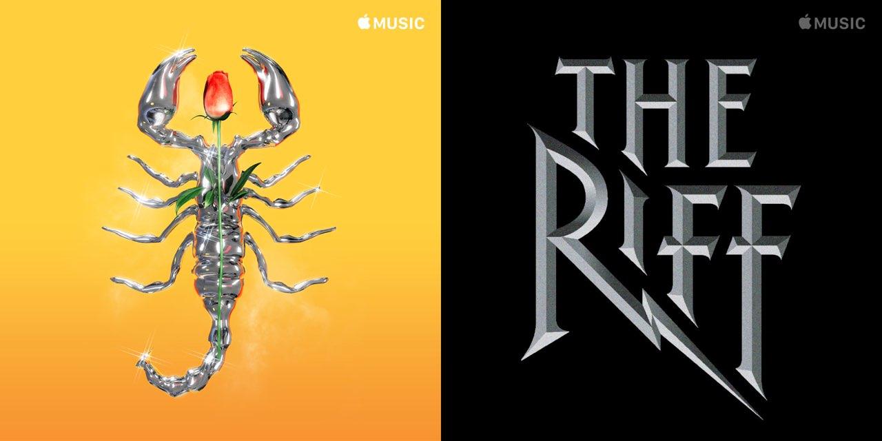Apple Music afspeellijst artwork
