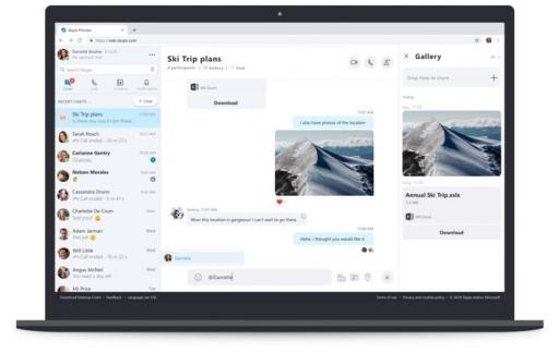 Skype for Web niet in Safari