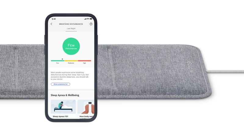 Withings Sleep slaapmat