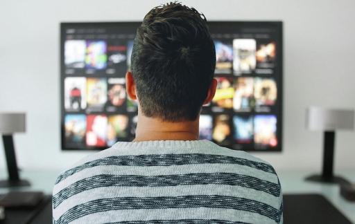 Netflix op tv