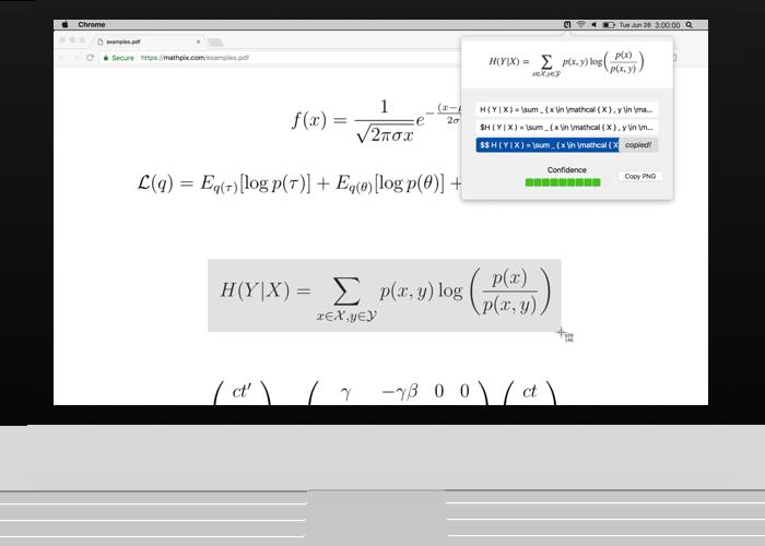 Mathpix voor Mac