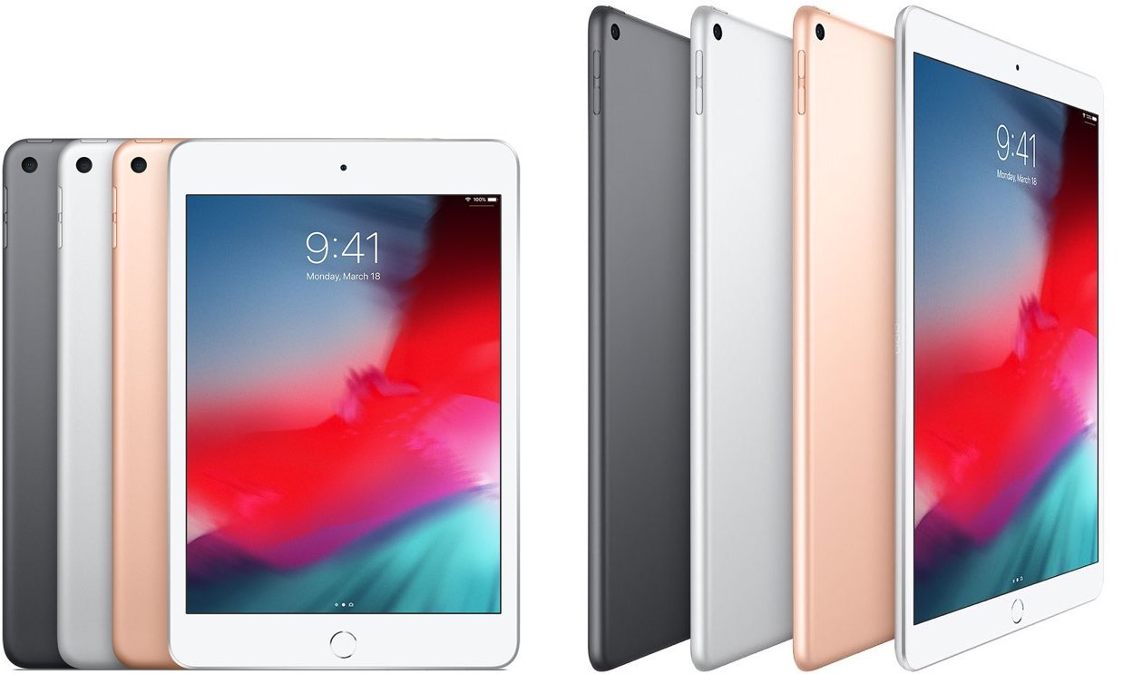 iPad mini 2019 versus iPad Air 2019