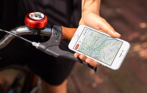 Google Maps fietsweergave