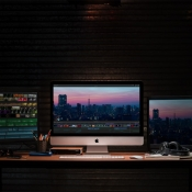 iMac 2019 in een studio.