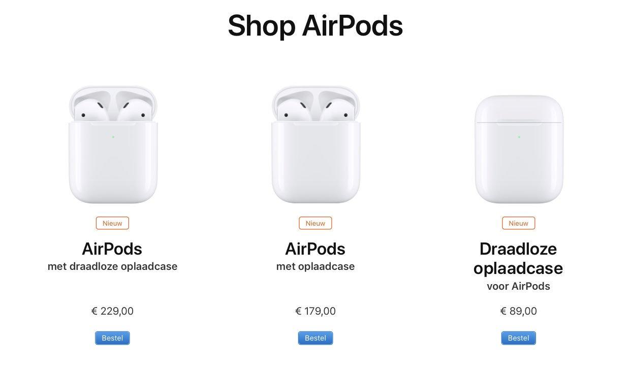 AirPods 2 assortiment
