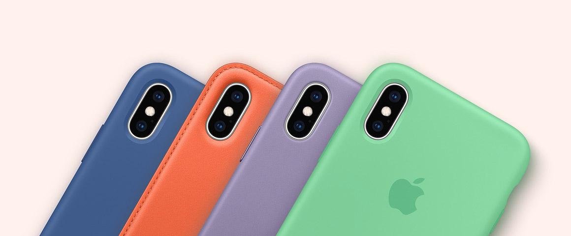 iPhone-hoesjes in lentekleuren