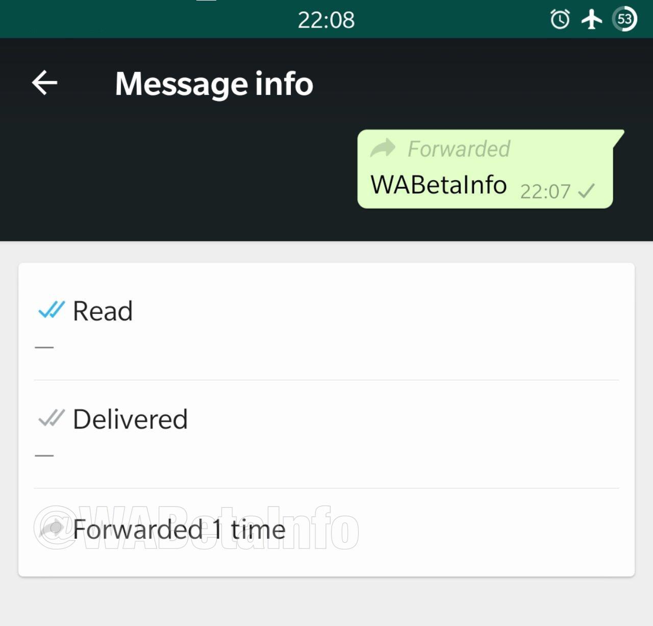 Info van doorgestuurd WhatsApp-bericht.