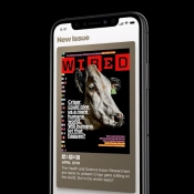 Apple News+ met Wired.