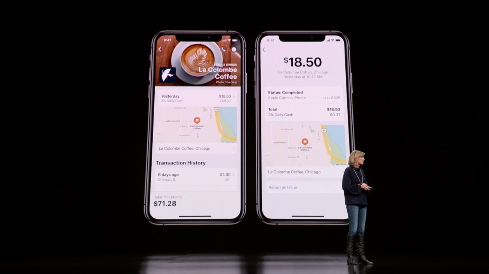 Apple Card in Wallet-app.
