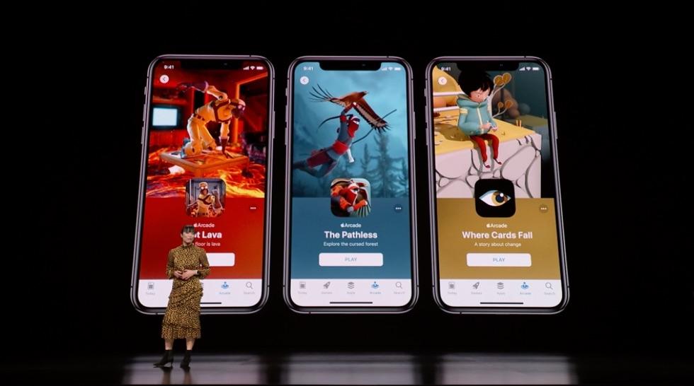 Apple Arcade games in de App Store.