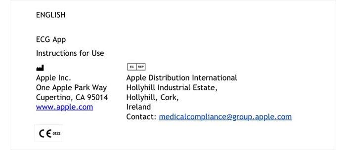 Apple Watch ECG-goedkeuring CE-keurmerk