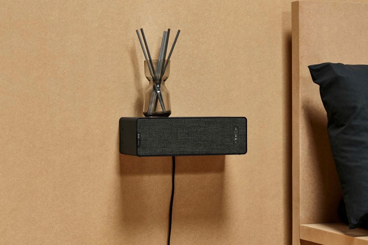 IKEA Symfonisk Sonos-speaker horizontaal.