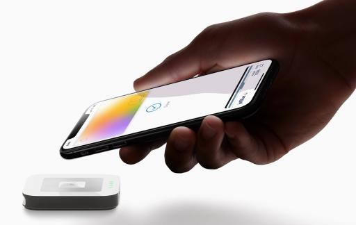 Apple Card betaling met iPhone