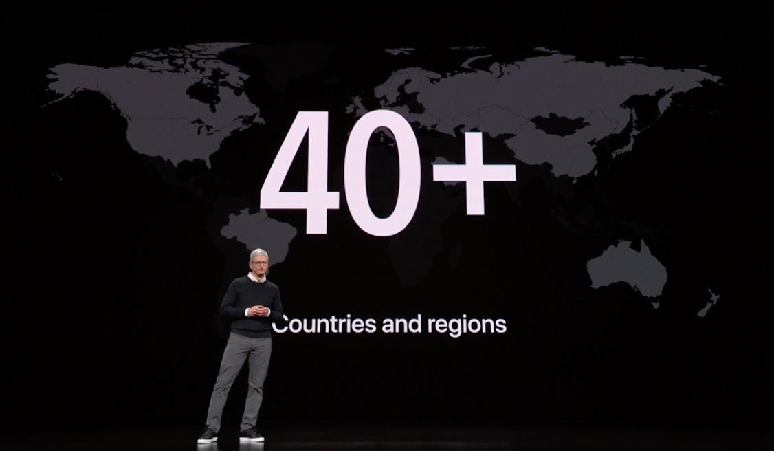 Apple Pay naar meer dan 40 landen in 2019.