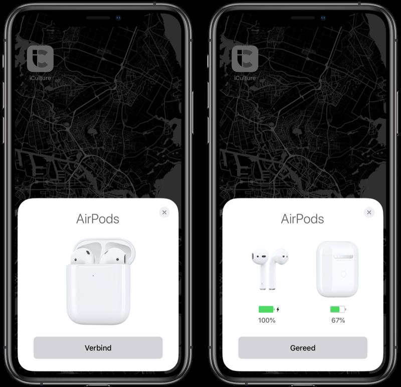 AirPods 2019 koppelen met iPhone.