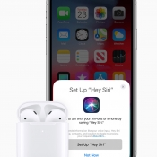 AirPods koppelen met Hé Siri.