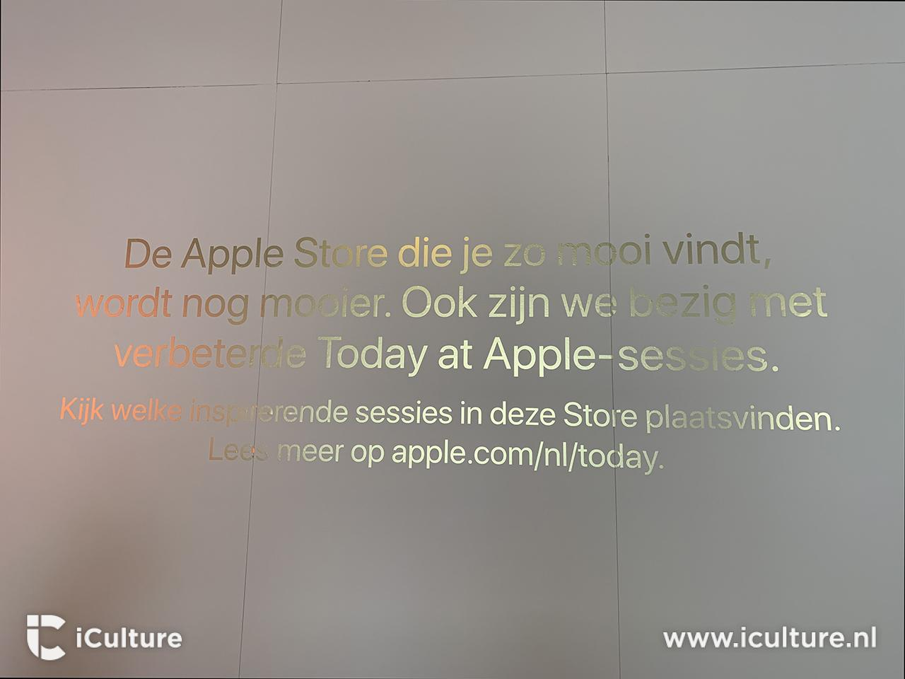 Verbouwing Apple Store Amsterdam - Today At Apple