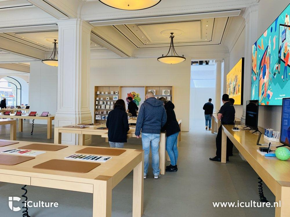 Apple Store Amsterdam renovation started: here are the pictures