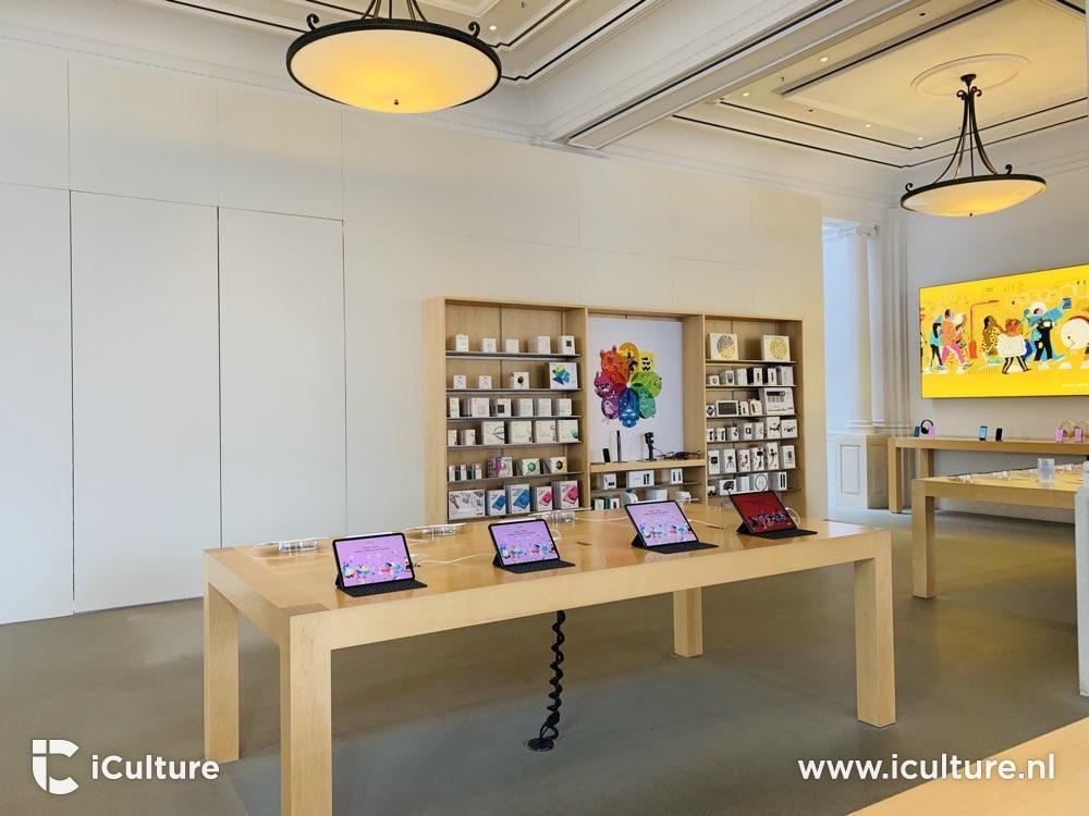 Apple Store Amsterdam kasten