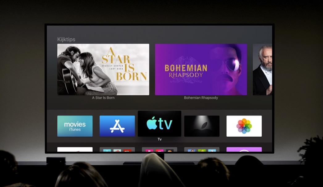 TV-app op Apple TV.