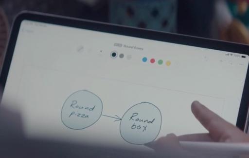 Apple at Work met pizzadoos.