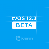 tvOS 12.3 beta met TV-app.