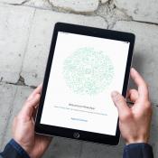 Screenshots tonen WhatsApp op de iPad, vereist ander telefoonnummer
