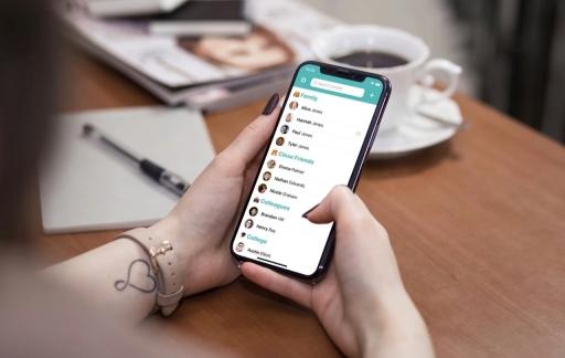 Cardbox contacten-app.