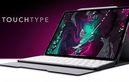 Touchtype Pro iPad-toetsenbord met in Kickstarter.