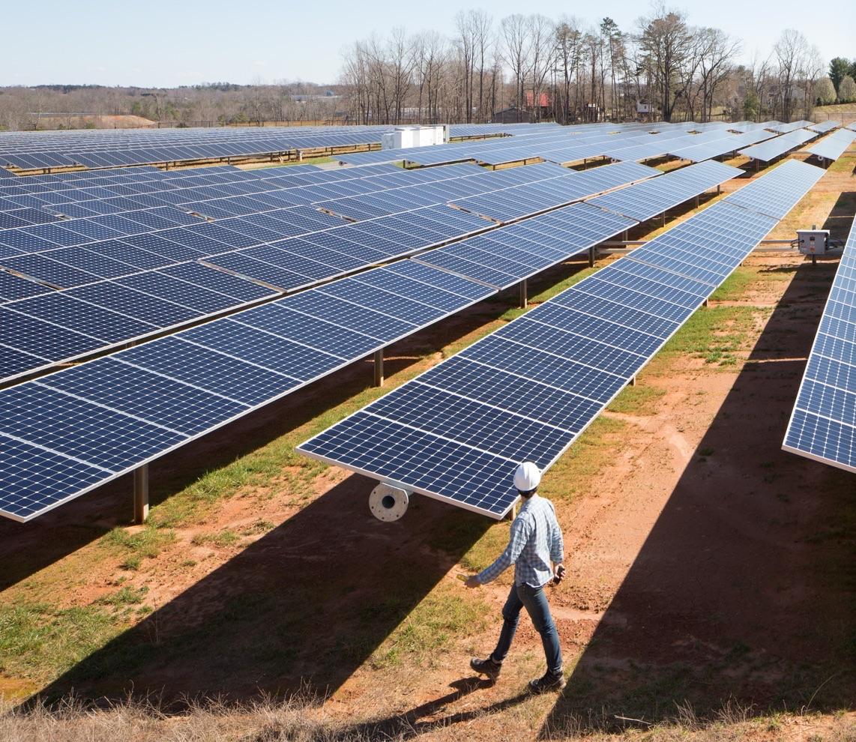 Apple-leveranciers met zonnepanelen.
