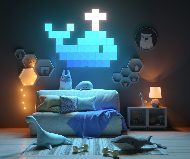 Nanoleaf Canvas review: kinderkamer