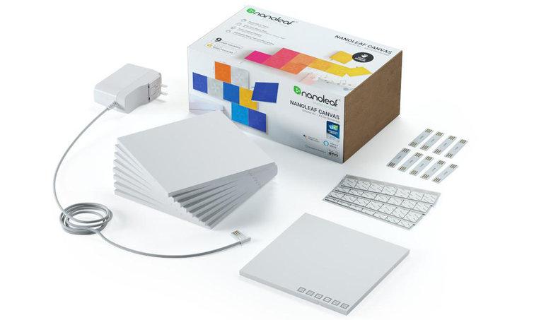 Nanoleaf Canvas review: inhoud verpakking