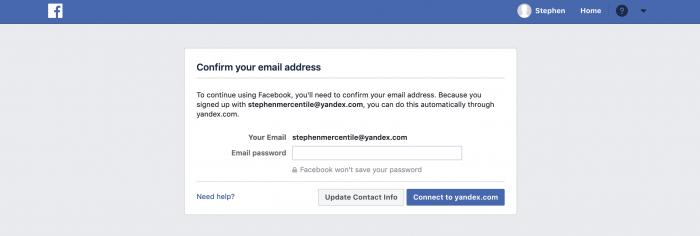 Facebook: adresboek uploaden