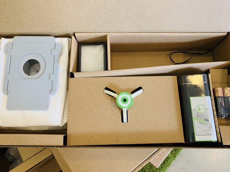 Roomba i7 review: inhoud van de doos