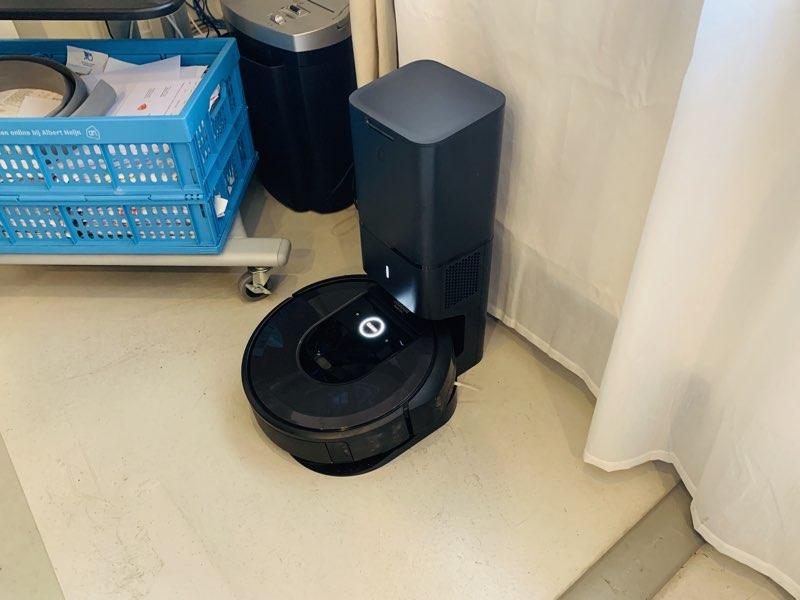 Roomba i7 review: het basisstation