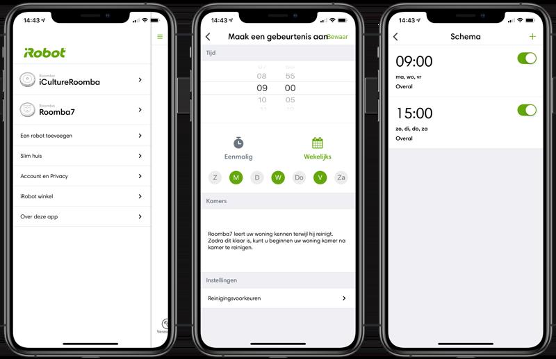 Roomba i7 review: schema maken