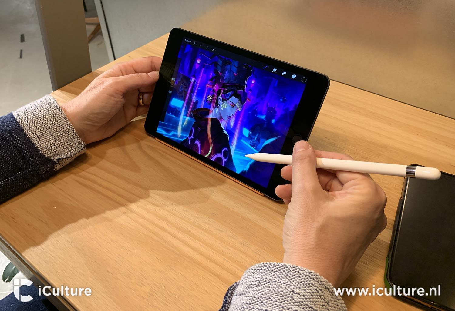 iPad mini 2019 review: tekenen met de Apple Pencil 1