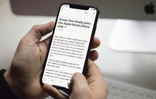 Reeder 4 met Bionic Reading.